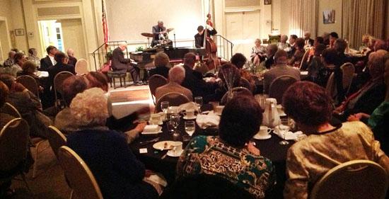 Club dinner with jazz program, 3-22-13